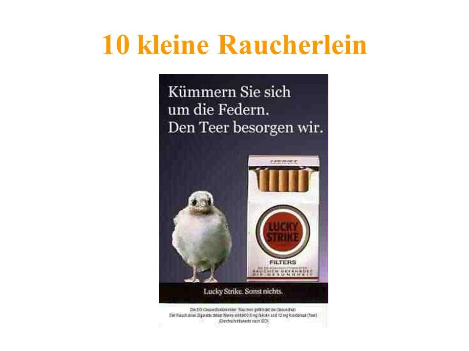 10 kleine Raucherlein
