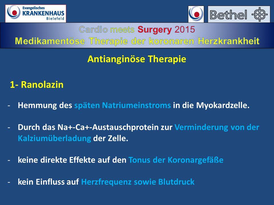 Antianginöse Therapie