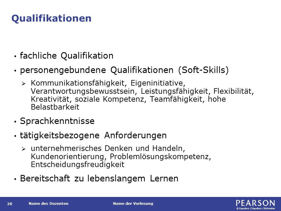 Qualifikationen Wirtschaftsinformatiker verfügen über Doppelqualifikation in Betriebswirtschaft und Informatik.