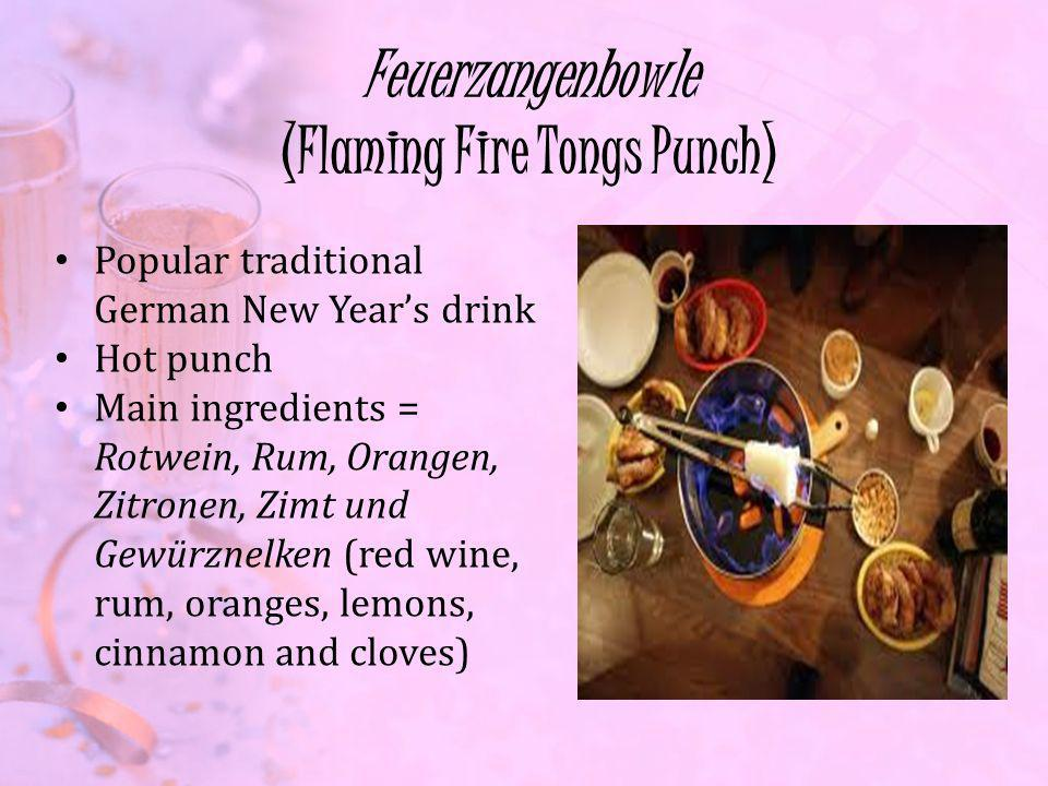 Feuerzangenbowle (Flaming Fire Tongs Punch)