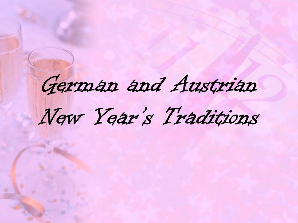 German and Austrian New Year's Traditions