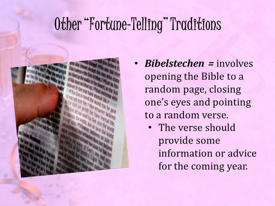 Other Fortune-Telling Traditions