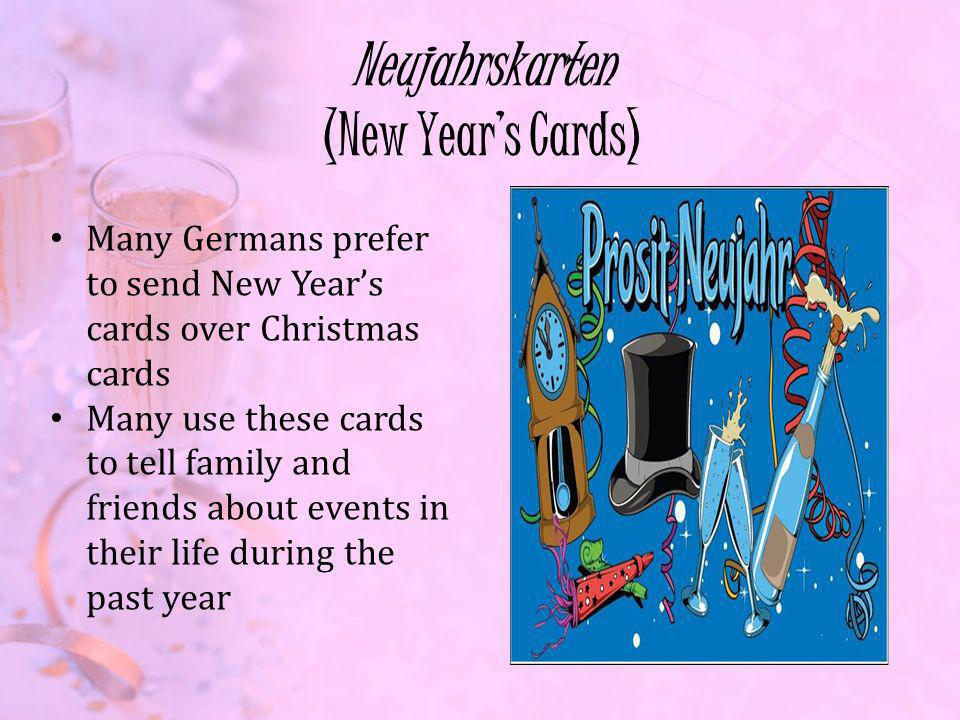 Neujahrskarten (New Year's Cards)