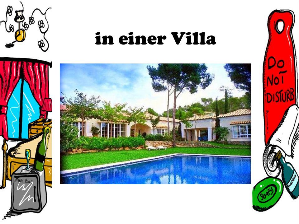 in einer Villa