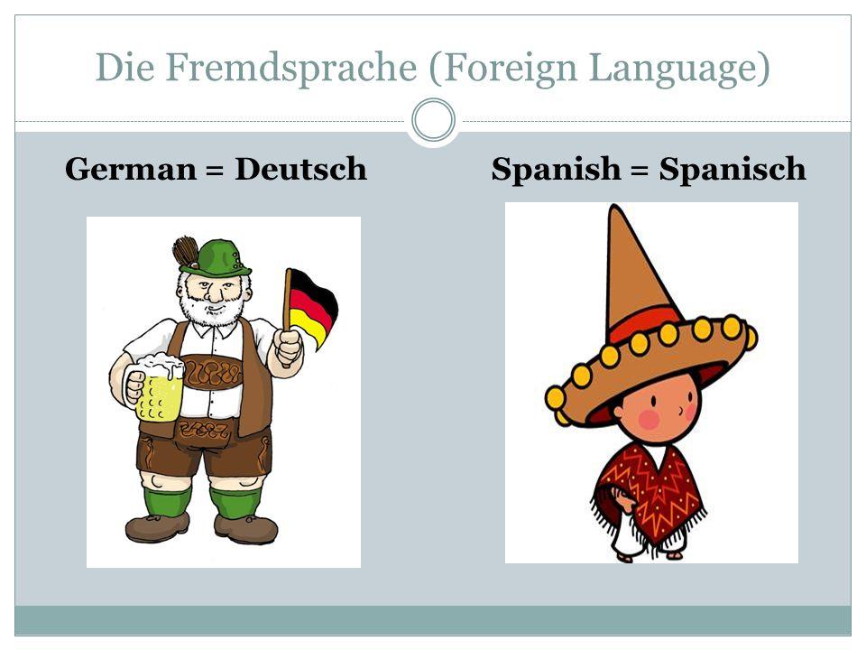 Die Fremdsprache (Foreign Language)