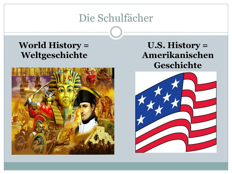 World History = Weltgeschichte Amerikanischen Geschichte