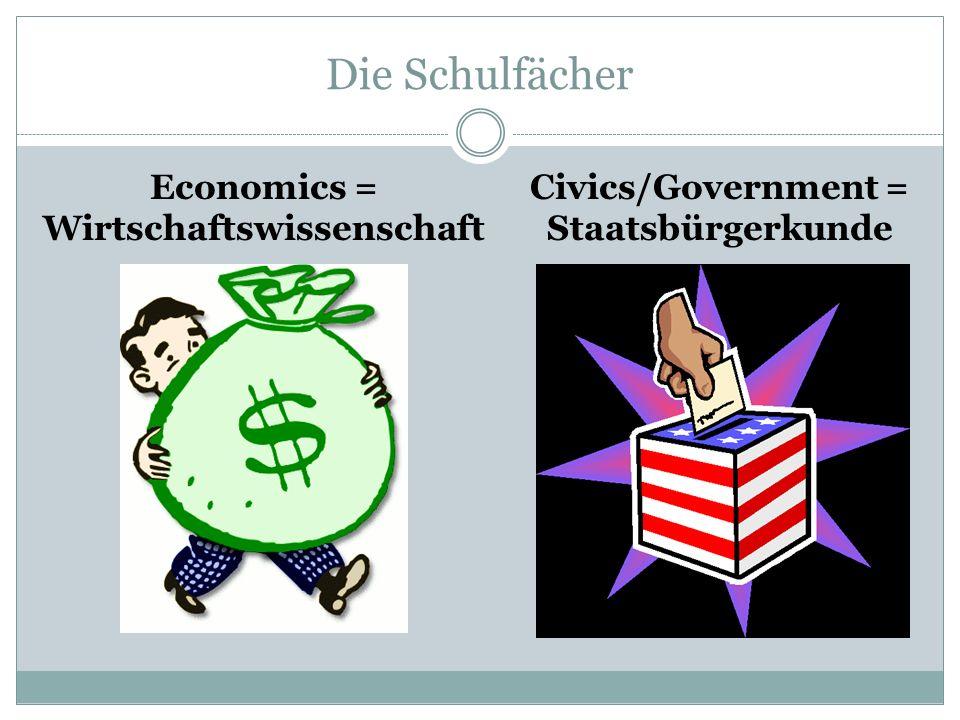 Economics = Wirtschaftswissenschaft