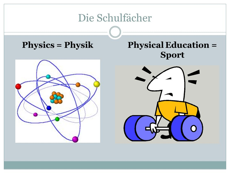 Physical Education = Sport