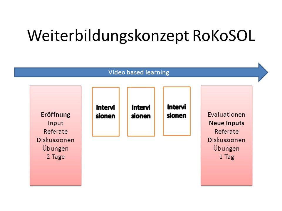 Weiterbildungskonzept RoKoSOL
