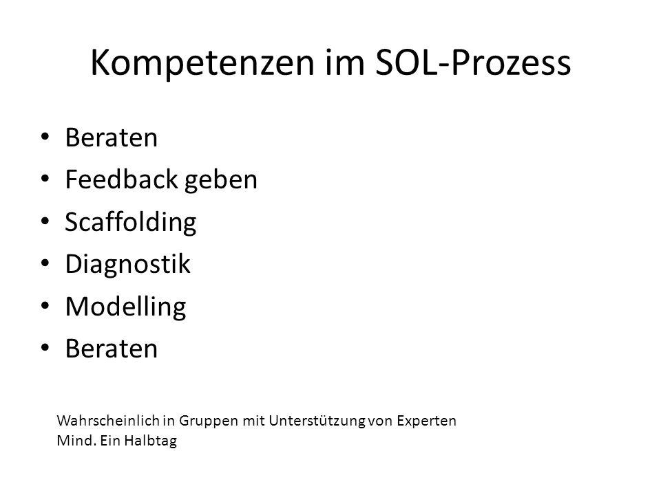 Kompetenzen im SOL-Prozess