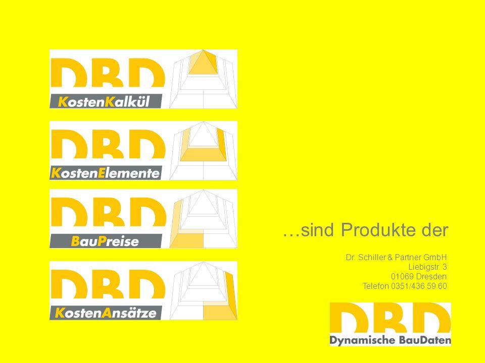 …sind Produkte der Dr. Schiller & Partner GmbH Liebigstr. 3
