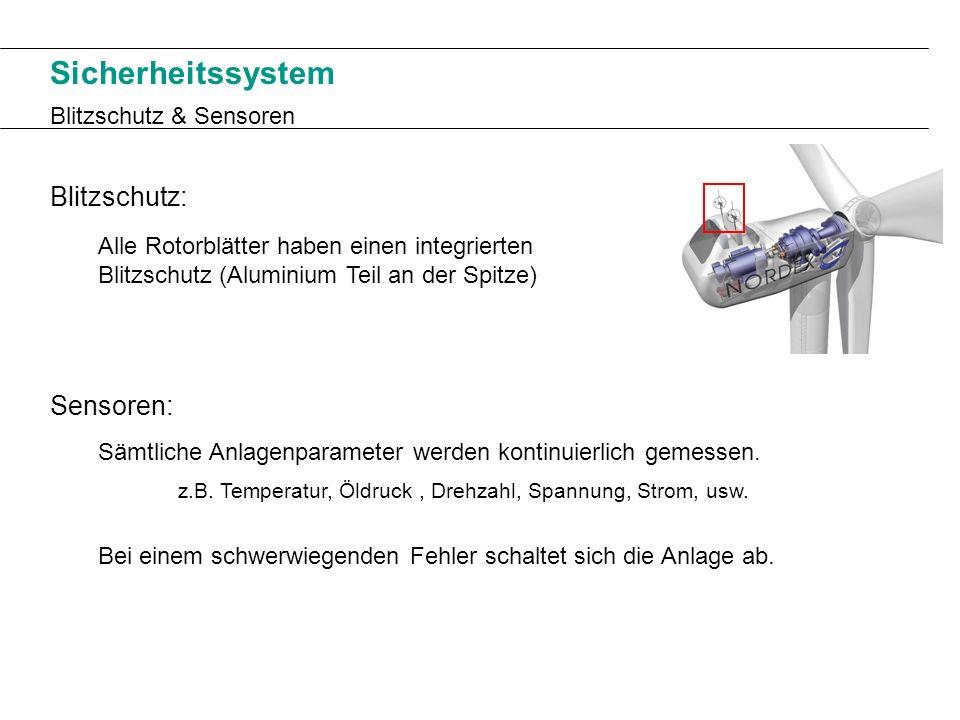 Sicherheitssystem Blitzschutz: Sensoren: Blitzschutz & Sensoren