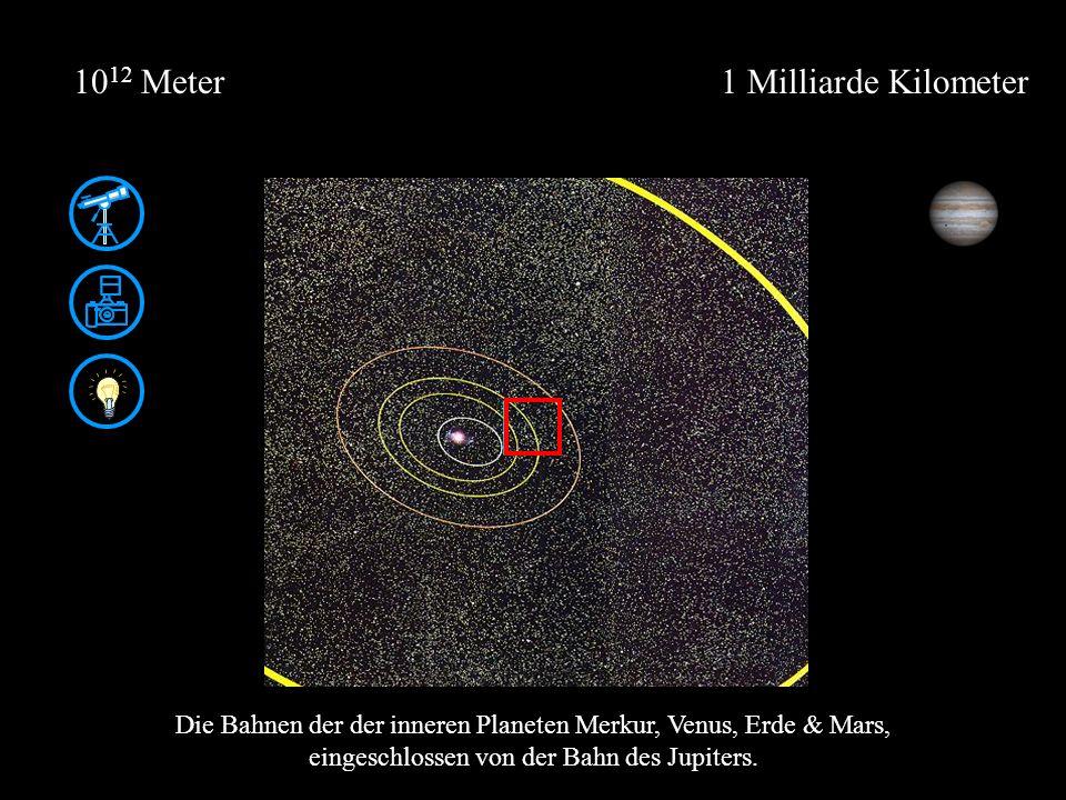 1012 Meter 1 Milliarde Kilometer