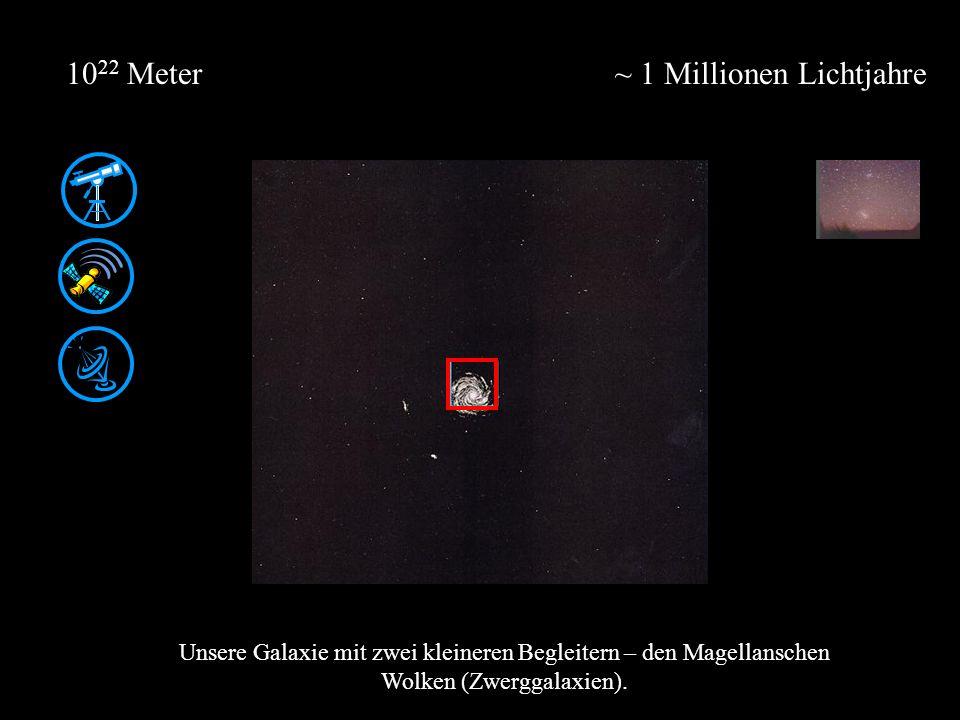 ~ 1 Millionen Lichtjahre