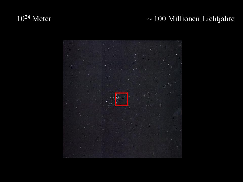 1024 Meter ~ 100 Millionen Lichtjahre