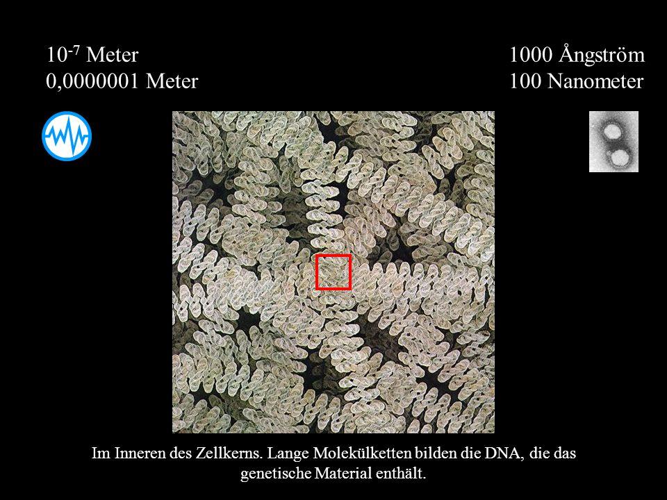 10-7 Meter 0,0000001 Meter 1000 Ångström 100 Nanometer