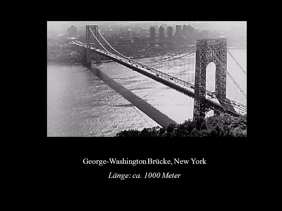 George-Washington Brücke, New York
