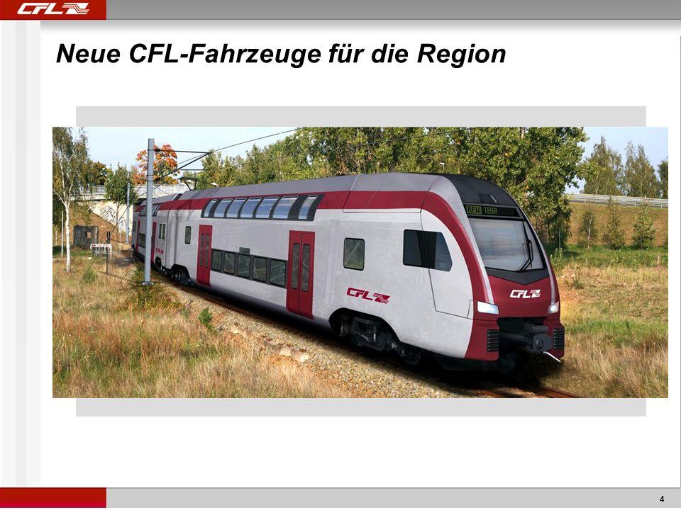 Neue CFL-Fahrzeuge für die Region