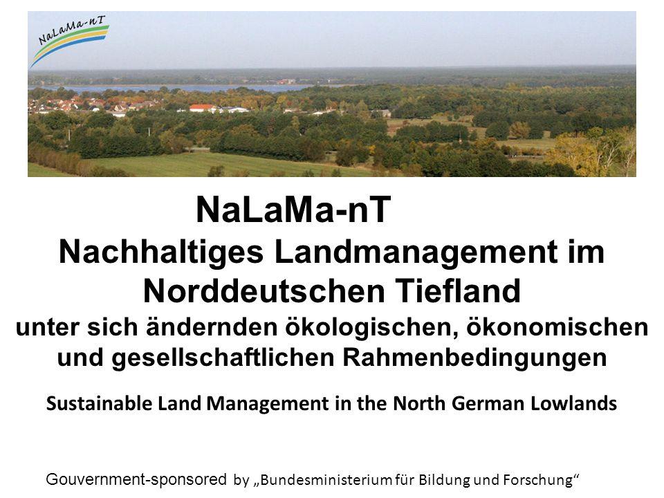 NaLaMa-nT Nachhaltiges Landmanagement im Norddeutschen Tiefland