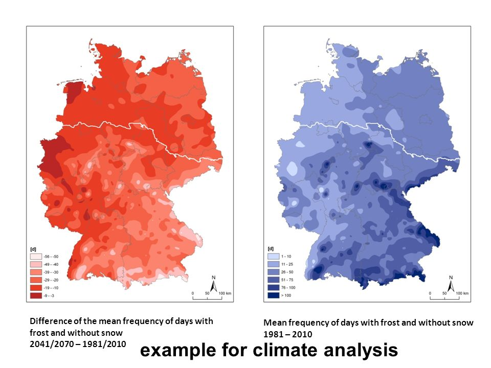 example for climate analysis