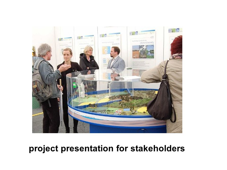 project presentation for stakeholders