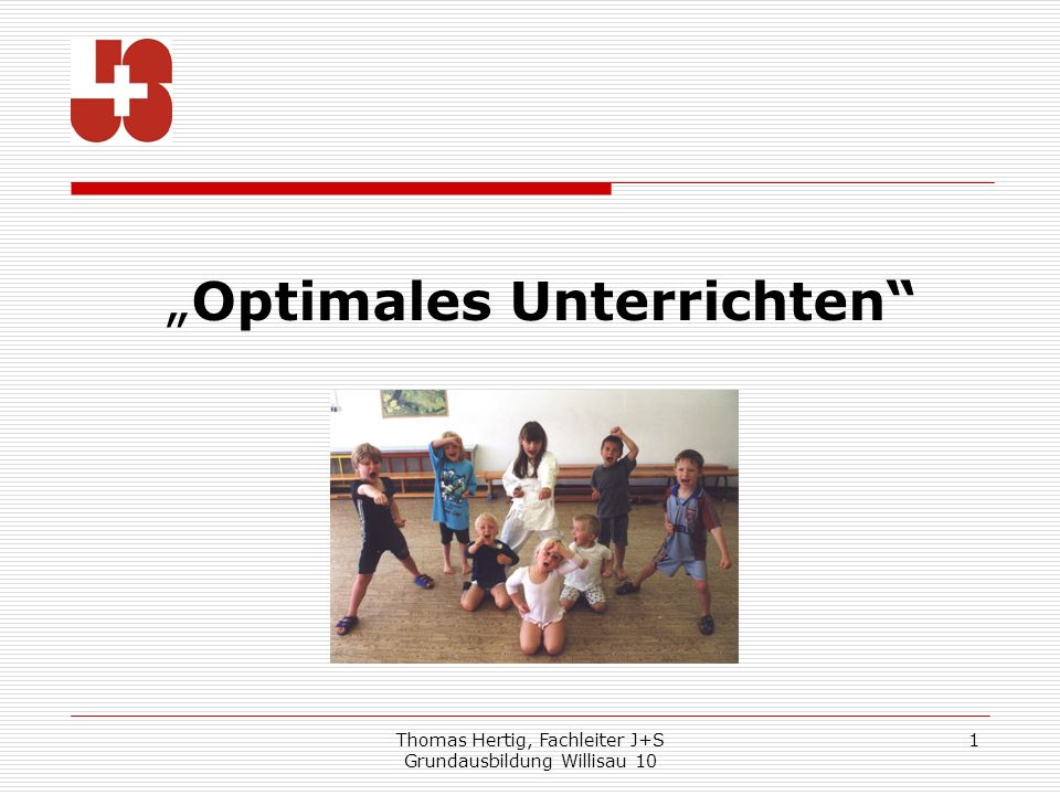 """Optimales Unterrichten"