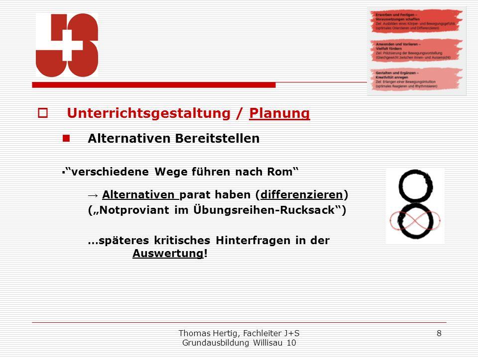 Thomas Hertig, Fachleiter J+S Grundausbildung Willisau 10