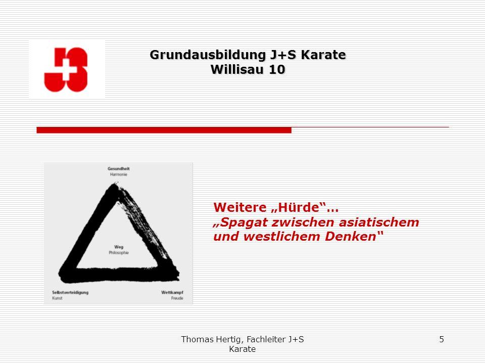Grundausbildung J+S Karate Willisau 10