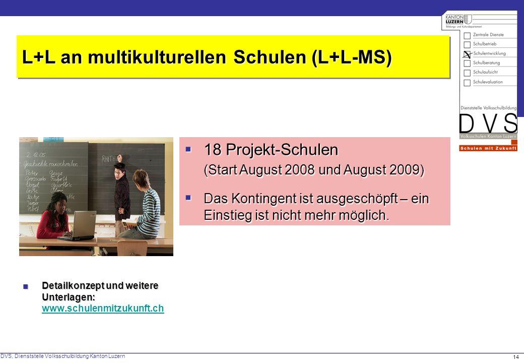 L+L an multikulturellen Schulen (L+L-MS)