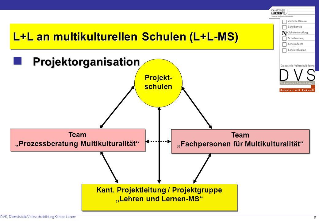 Kant. Projektleitung / Projektgruppe