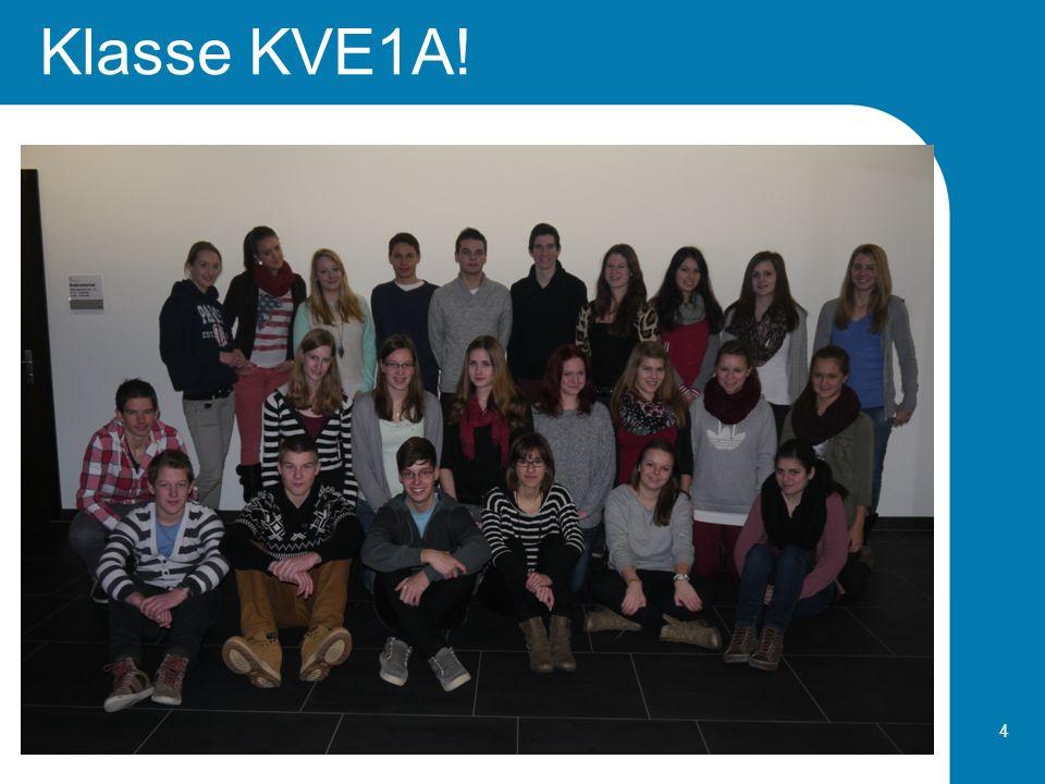 Klasse KVE1A!