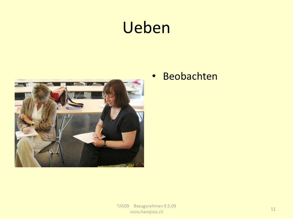 TA Ausbildungsgruppe Bern