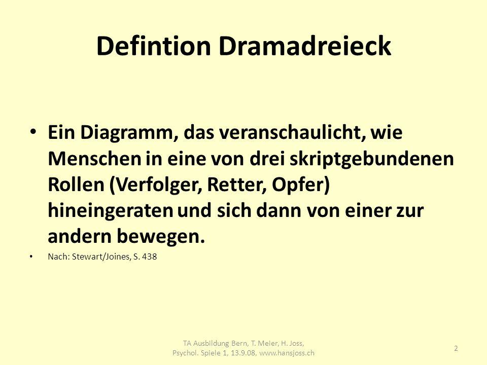 Defintion Dramadreieck