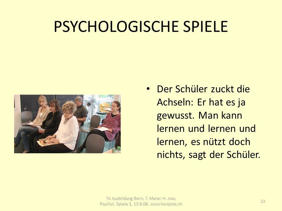 PSYCHOLOGISCHE SPIELE