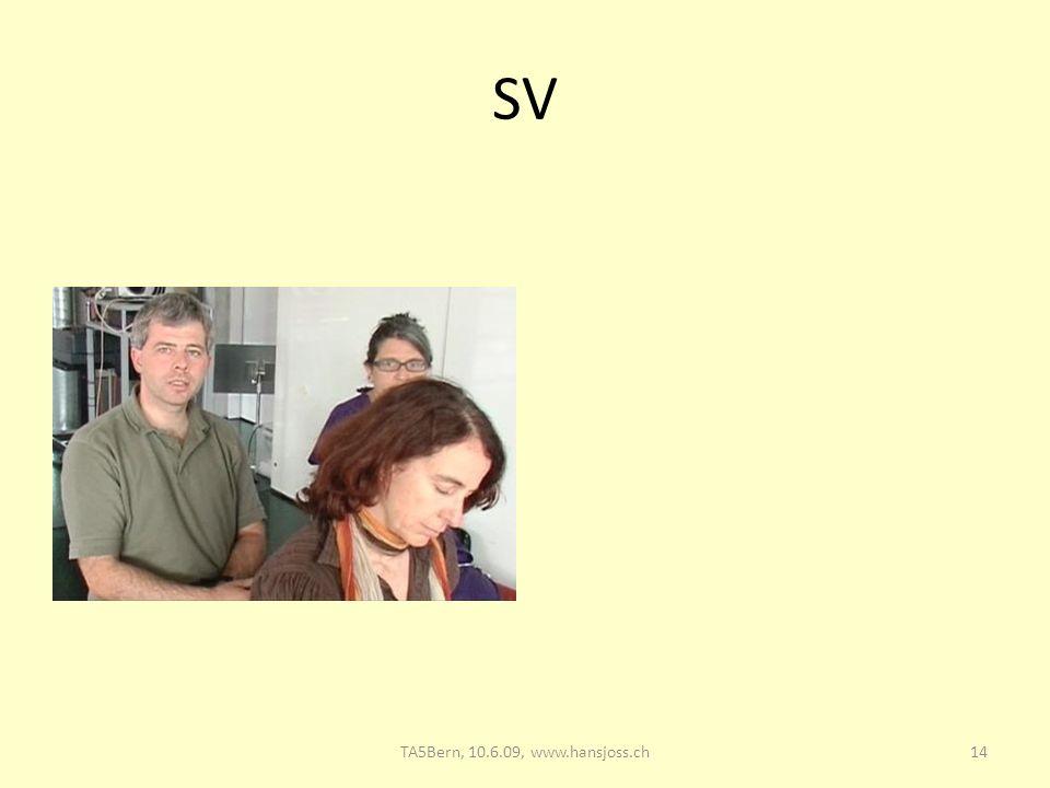 SV TA5 Bern, 10.6.09: Supervision 28.03.2017