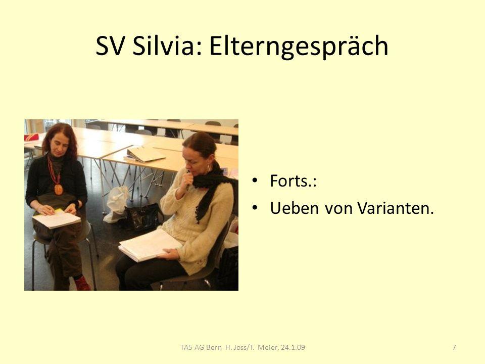 SV Silvia: Elterngespräch
