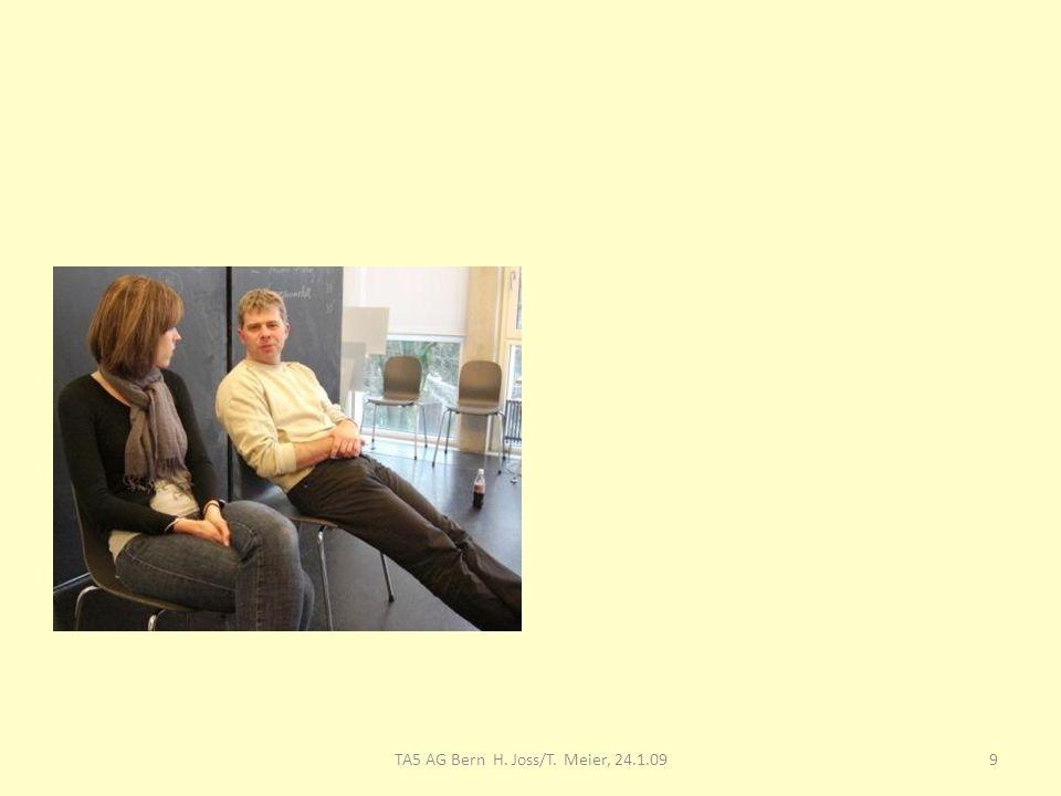 TA5 AG Bern H. Joss/T. Meier, 24.1.09