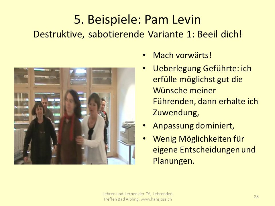 Lehrenden Treffen 2009 in Bad Aibling