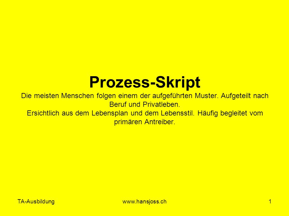 TA-Ausbildung Zürich 13.12.06