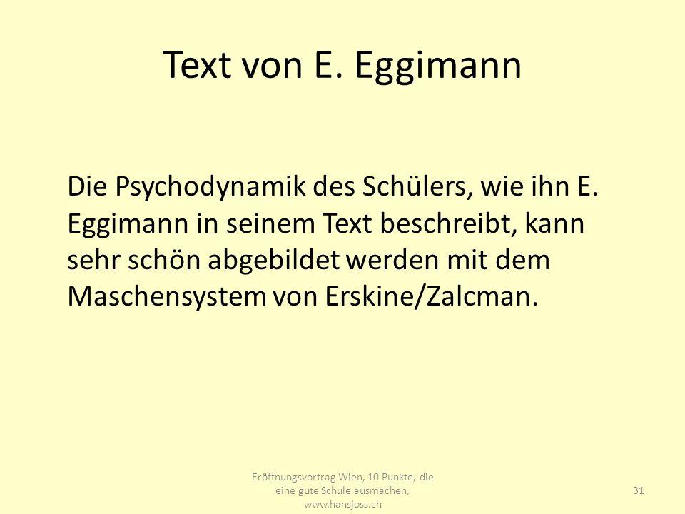 www.hansjoss.ch Text von E. Eggimann.