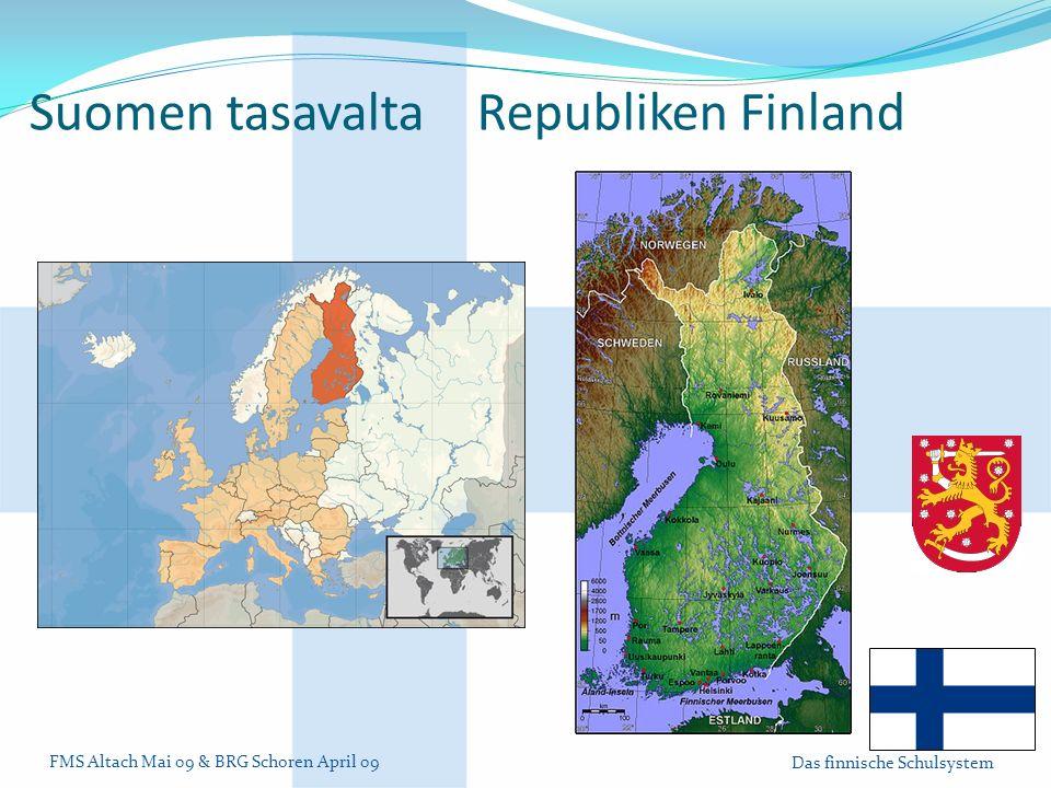 Suomen tasavalta Republiken Finland