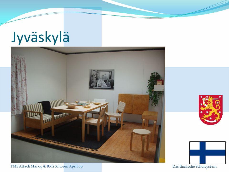Jyväskylä Design von Alvar Aalto (im Alvar Aalto Museum)