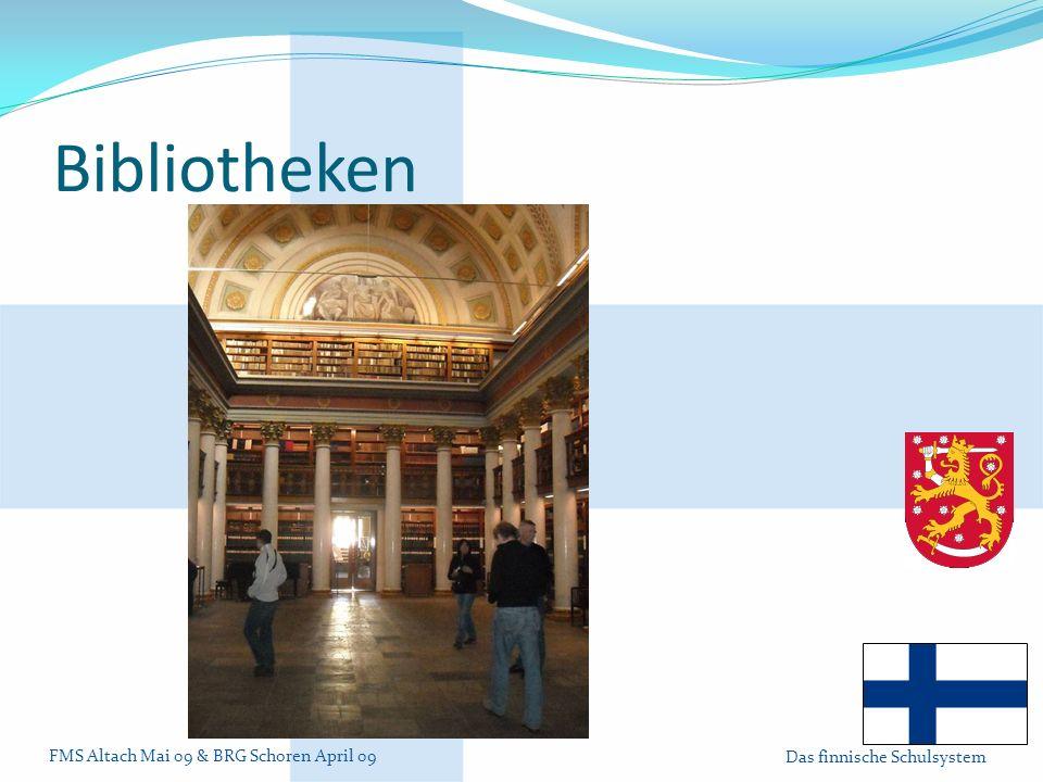Bibliotheken Bilbliothek in Helsinki