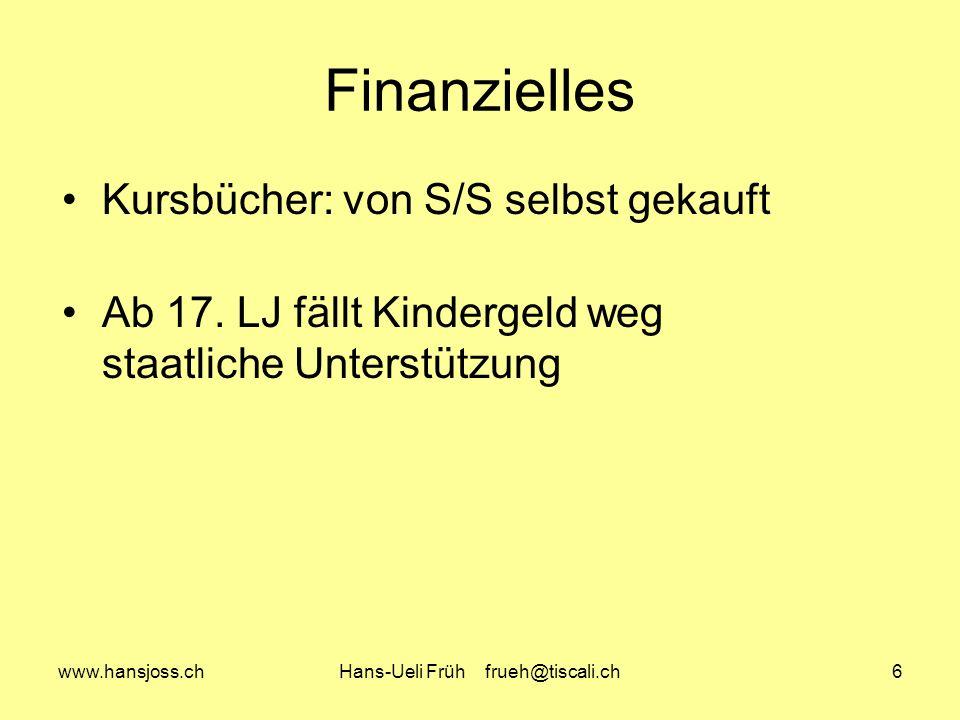 Hans-Ueli Früh frueh@tiscali.ch