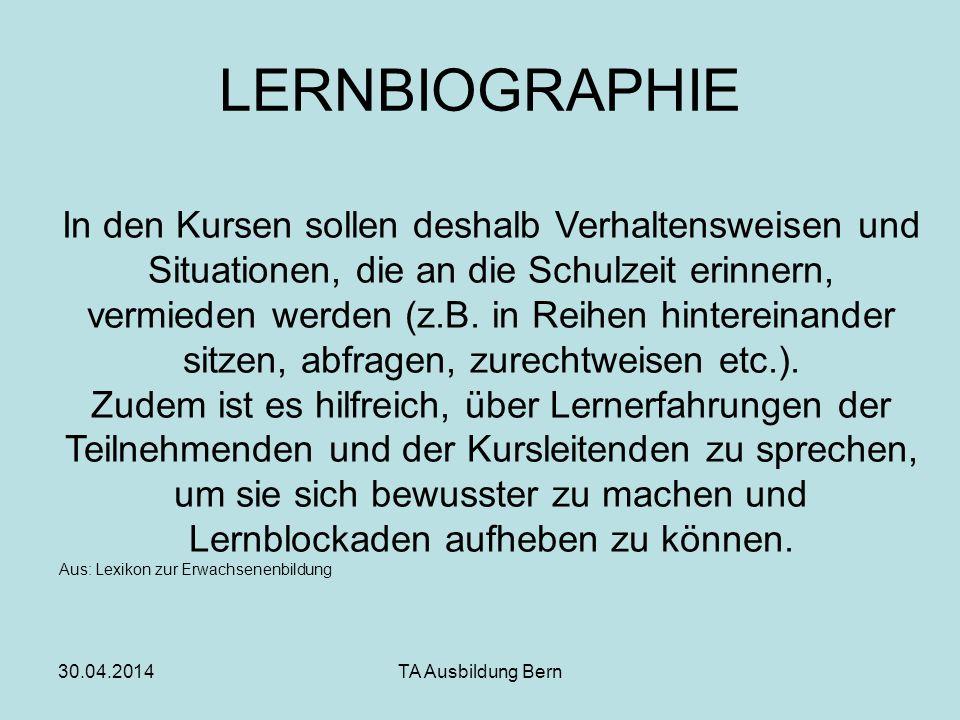 LERNBIOGRAPHIE
