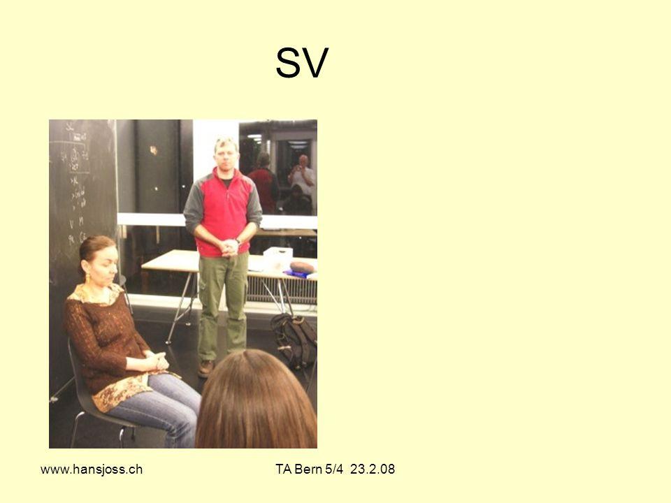 SV www.hansjoss.ch TA Bern 5/4 23.2.08