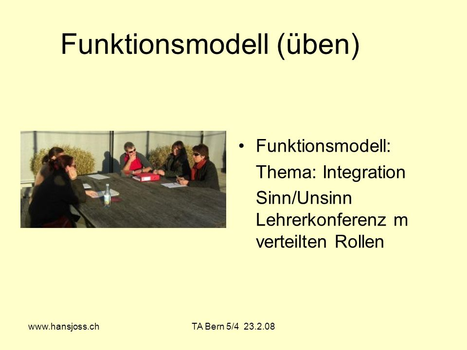 Funktionsmodell (üben)
