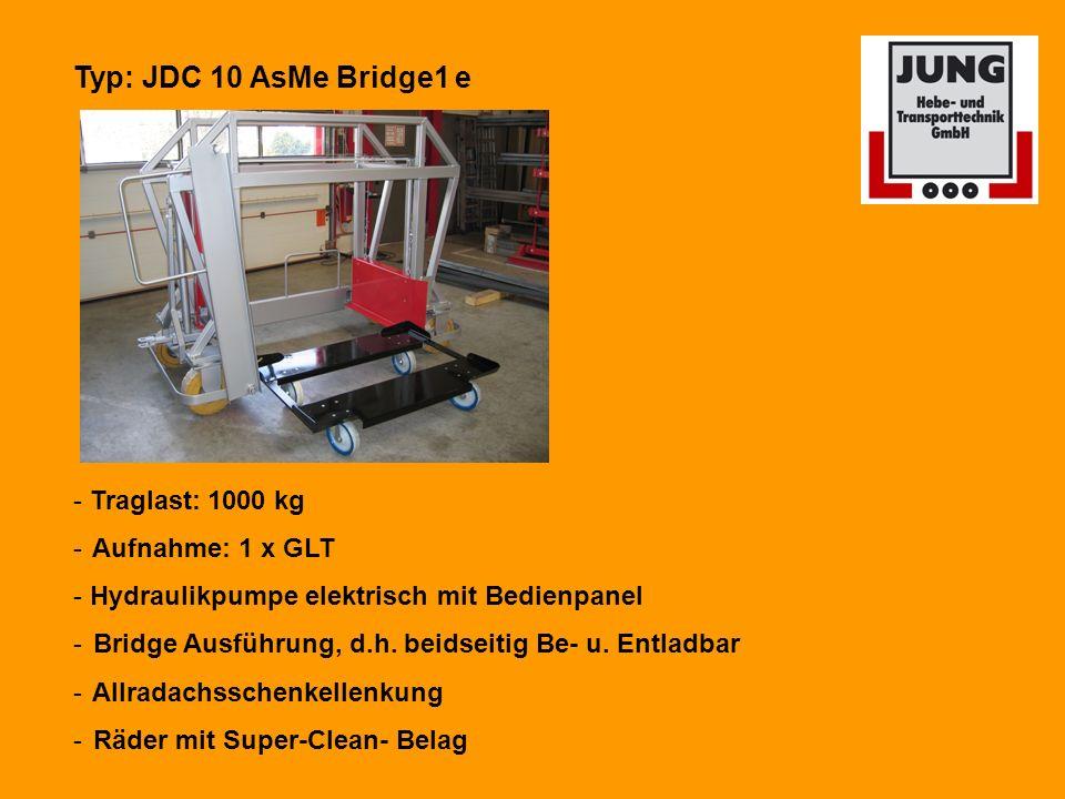 Typ: JDC 10 AsMe Bridge1 e - Traglast: 1000 kg Aufnahme: 1 x GLT