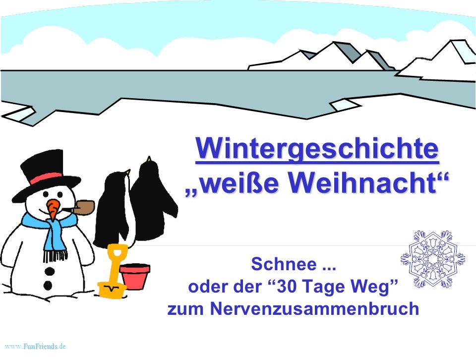 """Wintergeschichte """"weiße Weihnacht"""