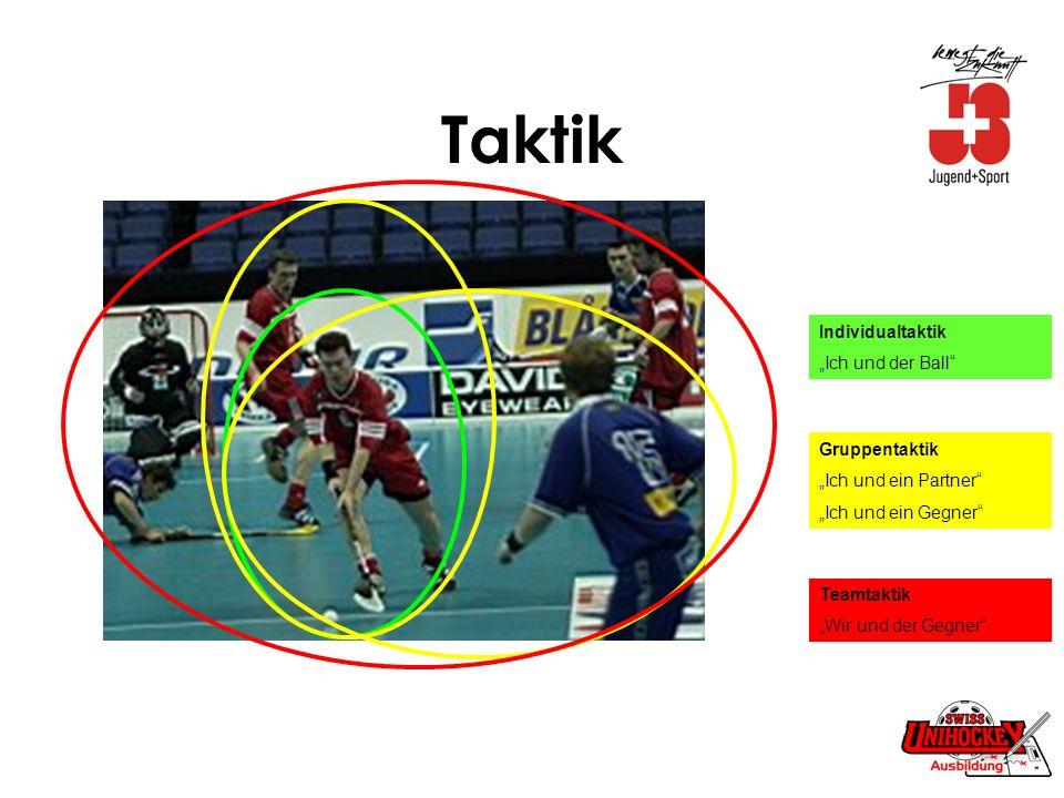 "Taktik Individualtaktik ""Ich und der Ball Gruppentaktik"